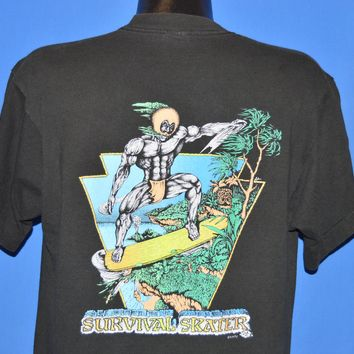 90s Kapu Hawaiian Survivor Skater t-shirt Large