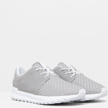 BRAIDED SNEAKERS - GYMWEAR - WOMAN - PULL&BEAR United Kingdom