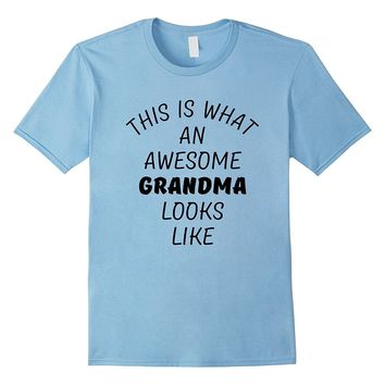 Funny Mothers Day Gift Shirt for Grandma from Granddaughter