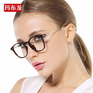 Free prescrption filling nearsighted optician prescription glasses frame shortsighted cute looking glasses myopia spectacle 7001