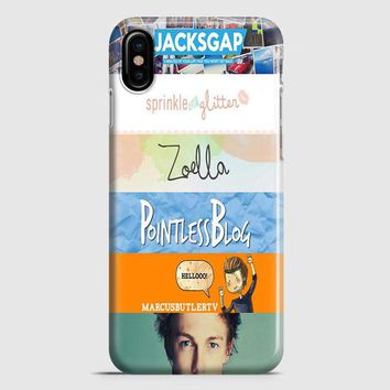 Quotes The Youtubers 2 iPhone X Case