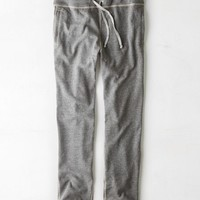 AEO 's Relaxed Fleece Sweatpant (Grey Heather)