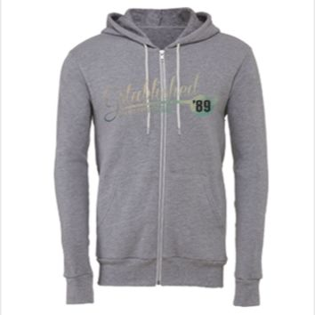 Established '89 Aged to Perfection - Unisex Full-Zip Hoodie