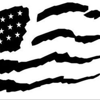 American Flag Vinyl Car/Laptop/Window/Wall Decal