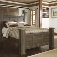 Santa Cruz Queen Poster Bed | HOM Furniture | Furniture Stores in Minneapolis Minnesota & Midwest