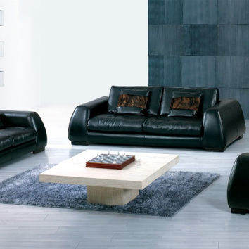 Hot sale modern chesterfield genuine leather living room sofa set furniture  feather sofa with cushion shipping to your port