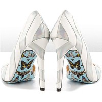 """""""Miko"""" Heels by Taylorsays (White)"""