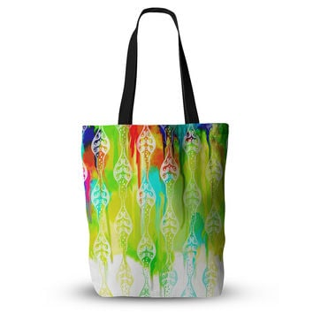 "Dan Sekanwagi ""Seeds of Unity"" Multicolor Abstract Everything Tote Bag"