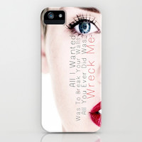 Wrecking Ball iPhone & iPod Case by Amber Rose