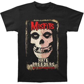 Misfits Men's  Hate Breeders Subway T-shirt Black