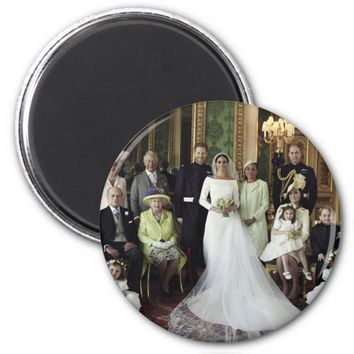 Prince Harry and Meghan Markle Royal Wedding Magnet