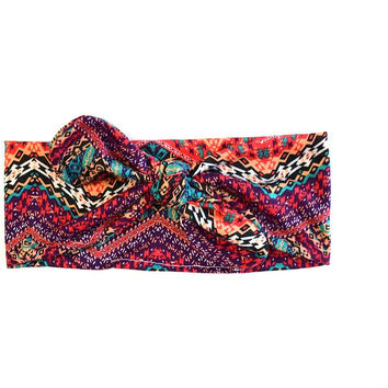 Knotted Jersey Hair Scarf | Bohemian Tribal | Gypsy Soul Collection