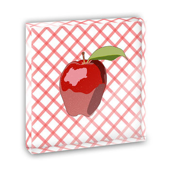 Apple Mini Desk Plaque and Paperweight