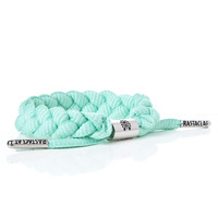 BRAIDED SHOELACE BRACELET - FRESH MINT
