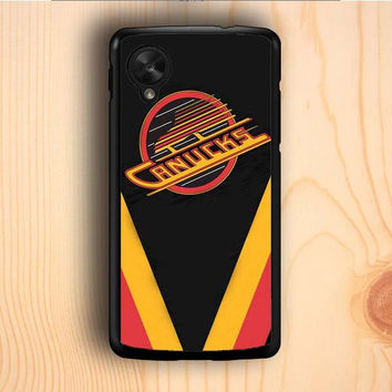 Dream colorful Vancouver Canucks Hockey Nexus 5 Case