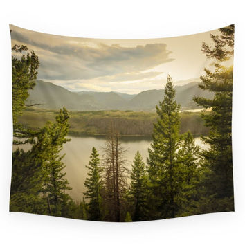 Society6 Colorado Drive 01 Wall Tapestry
