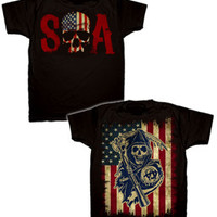 T-shirt Sons of Anarchy Skull Logo