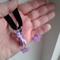 Pokémon Choker - ESPEON Necklace - Figure necklace, Pokemon GO