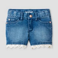 Toddler Girls' Jean Shorts Medium Blue - Cat & Jack™