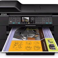 Epson WorkForce WF-7520 Wireless All-in-One Wide-Format Color Inkjet Printer, Scanner, Copier, Fax (C11CB58201) | Best Product Review