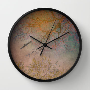 Landscape 1 Wall Clock by ARTsKRATCHES