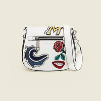 MJ Collage Small Nomad Saddle Bag - Marc Jacobs