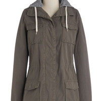Amped for Camping Hooded Coat