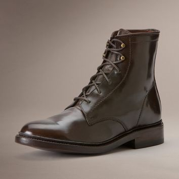 Dark Brown James Lace Up by TheFryeCompany,
