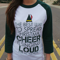 Ugly Christmas Sweater. Elf. Merry Christmas. The best way to spread Christmas cheer.