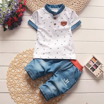Baby Boys Top + Short Pant Set