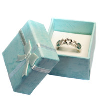 5 Hearts Promise Ring in Box - Beautiful Promise Rings
