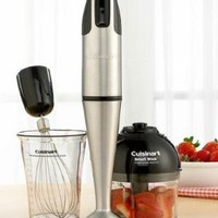 Cuisinart HB-154PC Smart Stick Hand Blender With Whisk & Chopper Attachments - Club Model:Amazon:Kitchen & Dining