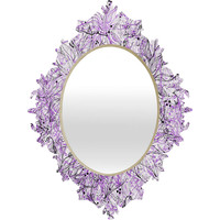 Lisa Argyropoulos Angelica Purple Baroque Mirror