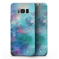Bright Absorbed Watercolor Texture - Samsung Galaxy S8 Full-Body Skin Kit