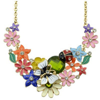 New Cute Flower Boho Style Necklace