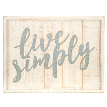 Live Simply Wood Wall Decor | Hobby Lobby | 1468693