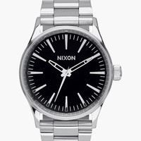 Nixon Sentry 38 Ss Watch Black One Size For Men 25838210001