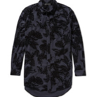 Alexander Wang - Flocked Stretch-Wool Shirt | MR PORTER