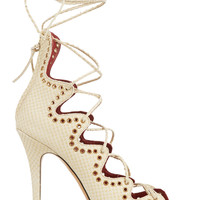 Isabel Marant - Lelie snake-effect leather sandals
