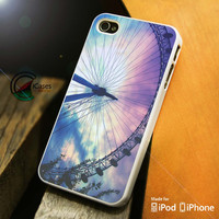 Ferris Wheel Pastel Sky iPhone 4 5 5c 6 Plus Case, Samsung Galaxy S3 S4 S5 Note 3 4 Case, iPod 4 5 Case, HtC One M7 M8 and Nexus Case