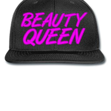 beauty queen Bucket Hat, - Snapback Hat