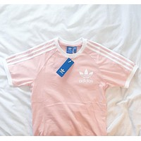 Adidas Originals Women Three Stripe T-Shirt