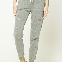 Raw-Cut Sweatpants