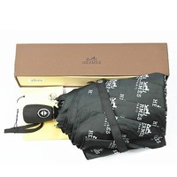 Hermes Folding Umbrella