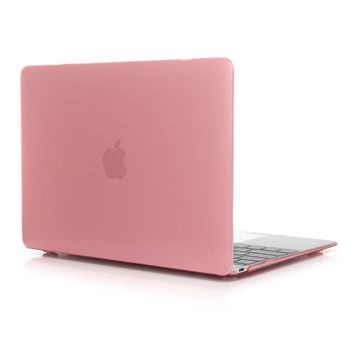 Aesetek Transparent Smooth Finish Hard Shell Case for Macbook Pro 15 inch with Retina Display (A1398),Pink