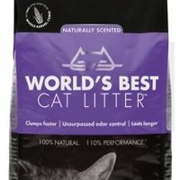World's Best Cat Litter Scented Multiple Cat Clumping Formula 7 lbs