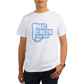 Mic Check Organic Men's T-Shirt
