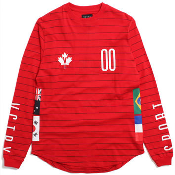 Competition Longsleeve Shirt Red