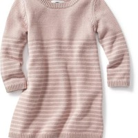 Old Navy Striped Sweater Dress For Baby