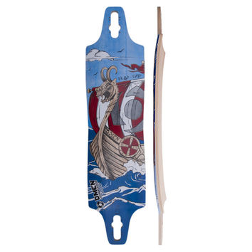 Omen Drop Ship Standard Longboards Deck